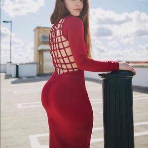 Dress back design